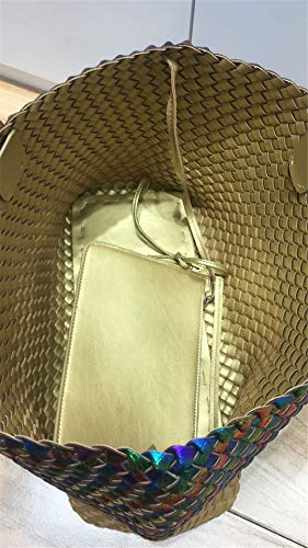 Gold grade Sheepskin Ladies' Leather High Tote wa7OqzO