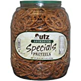 Utz Sourdough Specials Pretzels, 52 oz Barrel