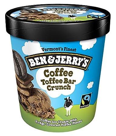 Ben & Jerrys - Vermonts Finest Ice Cream, Non-GMO - Fairtrade - Cage