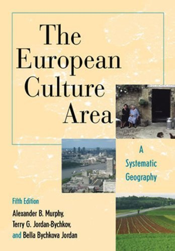 The European Sophistication Area: A Systematic Geography (Changing Regions in a Global Context: New Perspectives in Regional Geography Series) by Alexander B. Murphy (2008-08-28)