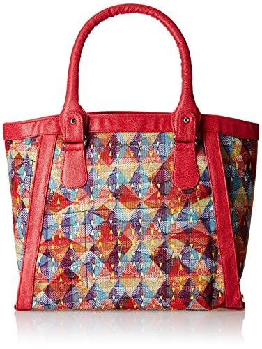 Kanvas Katha Women's Digitally Printed canvas Tote (Multi) (KKLA002)