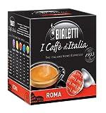 Bialetti 6821 I Cafe d'italia Mini Express Espresso Capsules, Roma, 16-pack