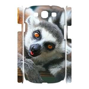 VNCASE Lemur Phone Case For Samsung Galaxy S3 I9300 [Pattern-1] by icecream design