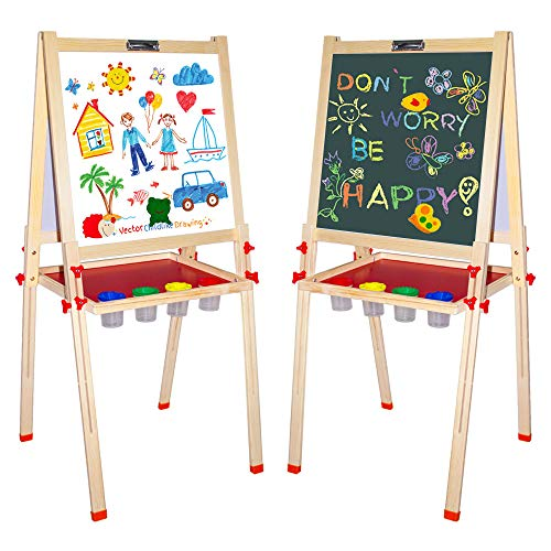 Arkmiido Kids Easel Double-Sided