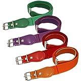 BMC Girls 4pc Solid Colored Adjustable Elastic...