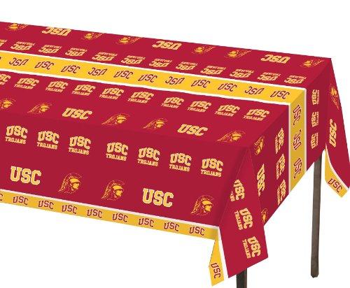Creative Converting Trojans Plastic Banquet