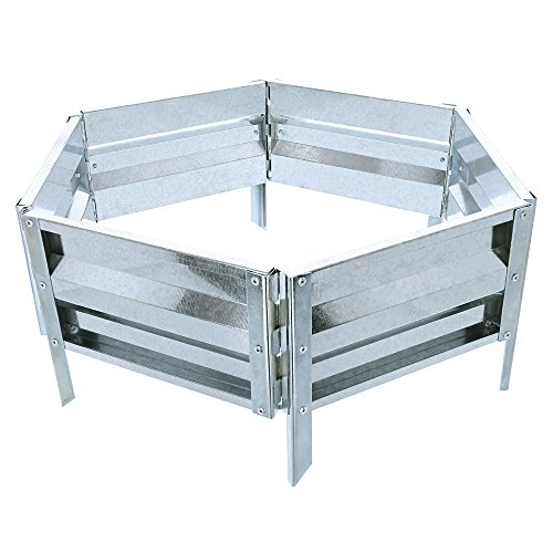 Pure Garden (PURNC) 50-193 Raised Garden Bed and Plant Holder Kit, 21