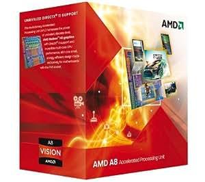AMD A series A8-3800 - Procesador (AMD A8, Socket FM1 uPGA, PC, A8-3800, 32-bit, 64 bits, L2)