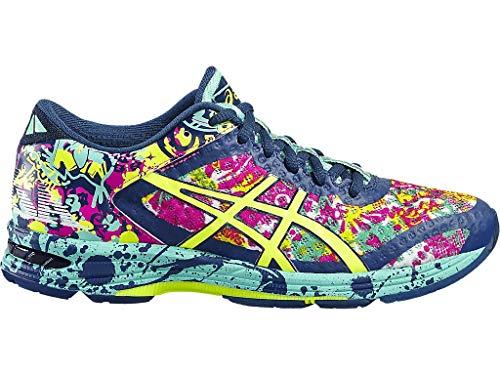 ASICS Women's Gel-Noosa TRI 11 Running Shoe Poseidon/Safety Yellow/Cockatoo 9.5 M US (Asics Colorful Running Shoes)