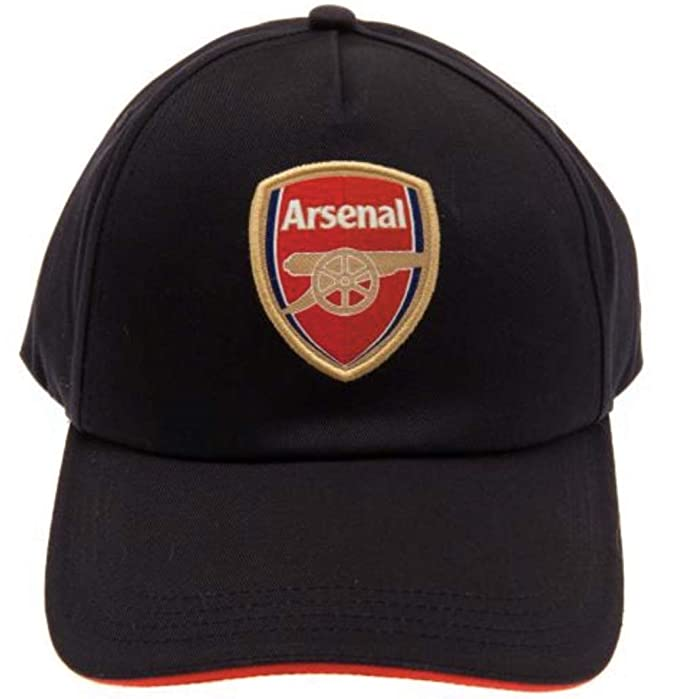 b6eec6a1d3bc6 Amazon.com   Arsenal FC Navy Blue Baseball Cap with Team Crest in Full  Color - Official Product   Sports   Outdoors