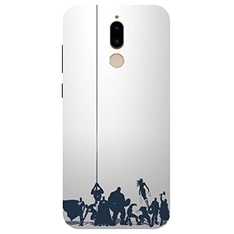 detailed look 4687f 8a337 Honor 9i Back Cover Case by Artage in Print Designer Cases and Covers  Avengers Justice Print Design