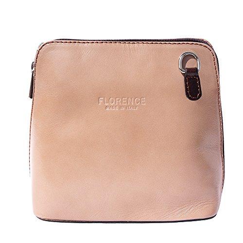 bandoulière Florence marron Leather Foncé Sac Taupe Petit Market 201 à 88Arp