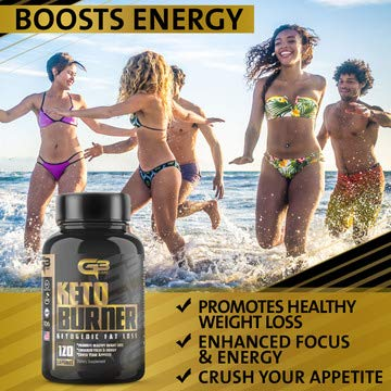 Keto Fat Burner Pills, Exogenous Ketones W/ 2g Go Bhb Keto Weight Loss Supplement & Garcinia Cambogia Blend for Men & Women. Ketone Supplement for Belly Fat, Appetite Suppressant, Energy, Ketosis by GLADIATOR GYM GEAR (Image #6)