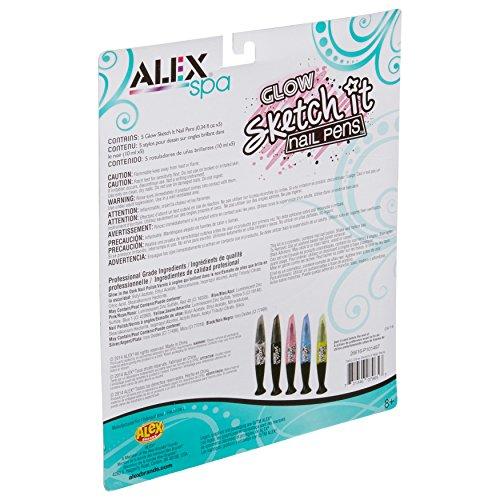 ALEX Spa Glow Sketch It Nail Pens by ALEX Toys (Image #1)