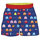 Pac-Man Boys' Toddler Ghost Swim Shorts, Blue, 4T