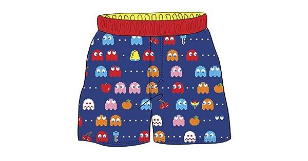 Amazon.com: Pac-Man fantasma, para bebé pantalones cortos ...