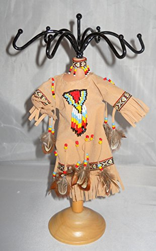 Native American Dress Mannequin Jewelry Organizer Display Stand - Woods North Mall