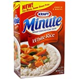Kraft Minute White Rice - 72 oz. box (2 Pack)