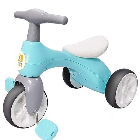 ZLMI Andador, Triciclo para niños Bicicleta 2-5 años de Edad ...