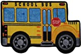 Fun Shape High Pile School Bus Kids Rug Rug Size: 2'7'' x 3'11''