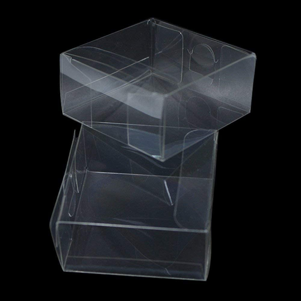 New White Square Rectangle Presents Gifts Box Case Boxes 4 Jewelry Clothing Toys