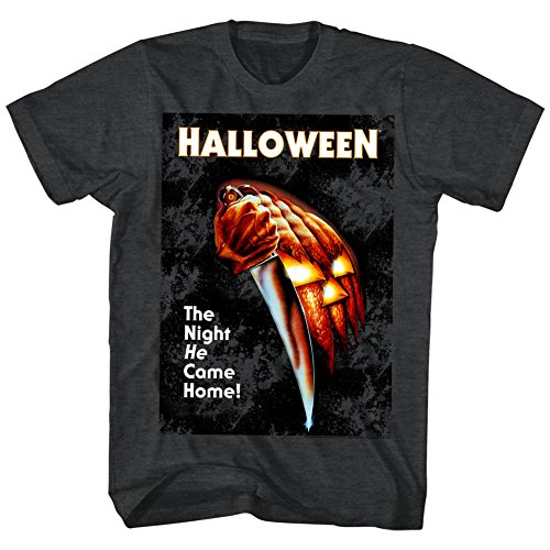 Halloween Movies The Night He Came Home Adult Short Sleeve T Shirt -