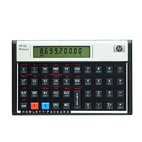 HP-12C Platinum calcolatrice finanziaria Hewlett Packard Calcuso