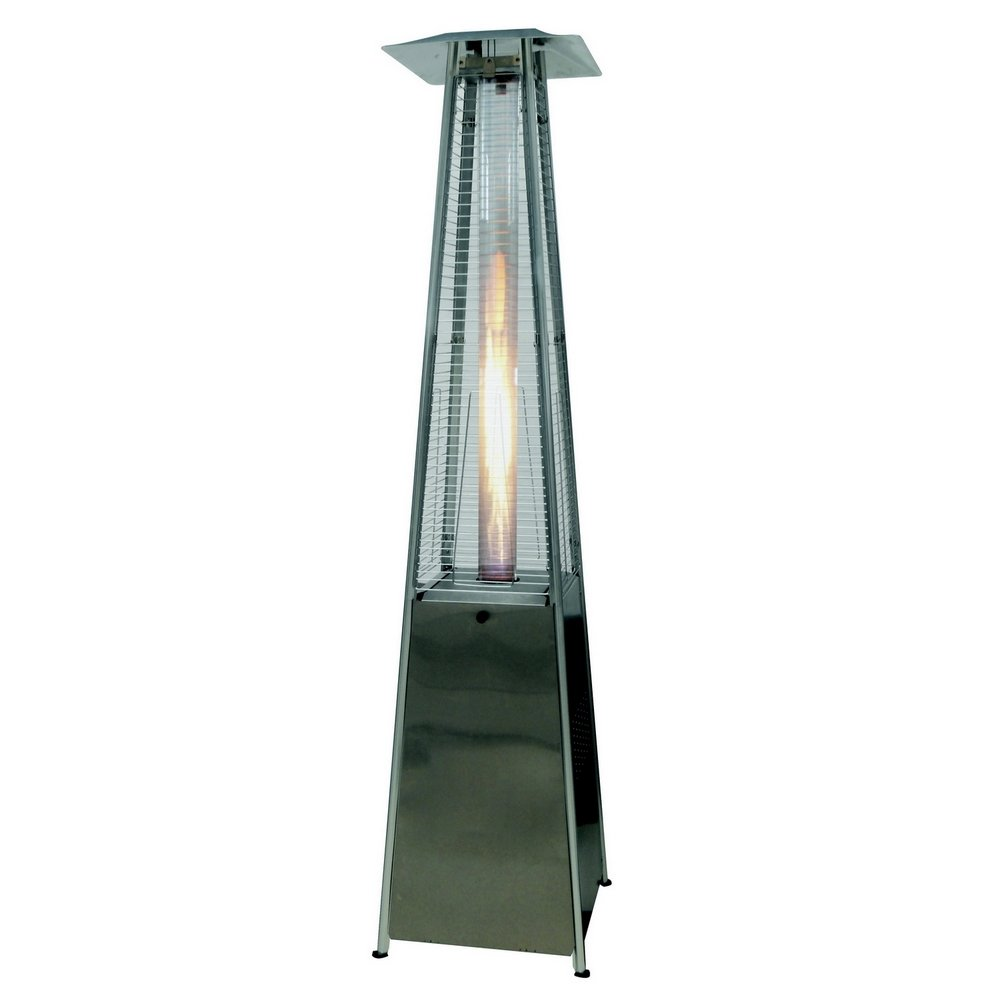 Captivating Amazon.com : Palm Springs Pyramid Quartz Glass Tube Flame Patio Heater    Stainless Steel : Garden U0026 Outdoor