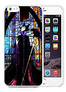 For iPhone 6 Plus,100% Brand New Villain Maleficent White For iPhone 6 Plus(5.5) TPU Case