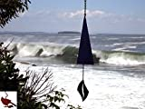 North Country Wind Bells, Inc. 127.5040 Sea Melody with black triangle wind catcher by North Country Wind Bells