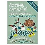 Dorset Cereals Tasty Toasted Spelt, Fruit & Nut Muesli (690g) - Pack of 2