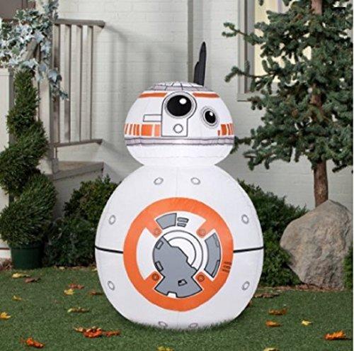 Gemmy Airblown Inflatable BB-8, 4.5'