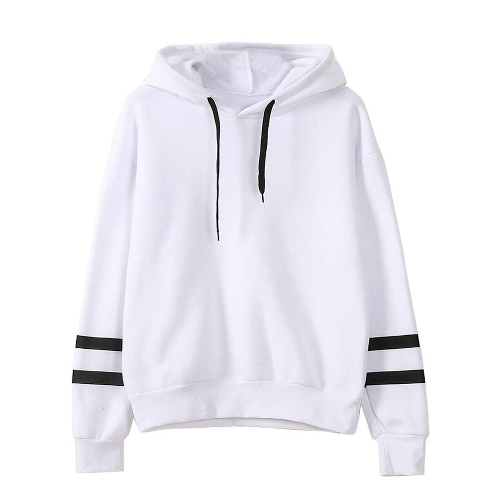 Amazon.com: ZJSWCP Sweatshirt Casual New Women Long Sleeve Hoodie Sweatshirt Jumper Pullover Tops Blouse Women Sweatshirt with Pockets Sudadera Mujer 10: ...