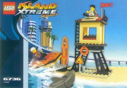 LEGO Island - Xtreme Stunts Beach Lookout (Lookout Shark)