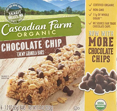Price comparison product image 1 2 3 Cascadian Farm Bar Granola Chocochips Bar,  7.4 oz