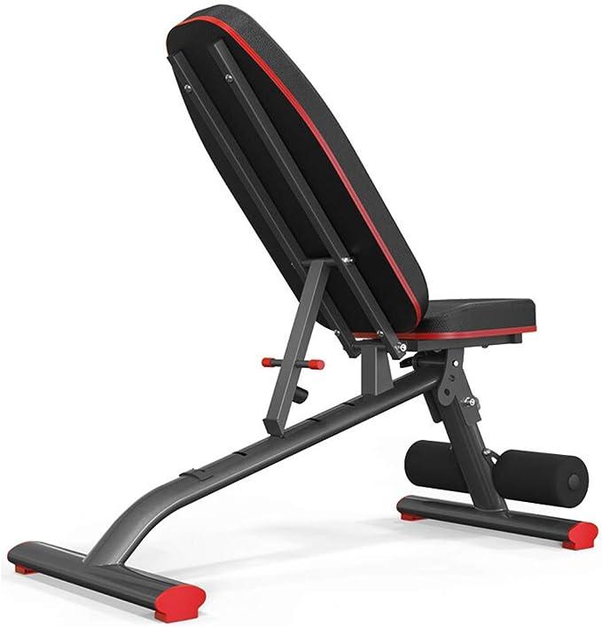 GBX Gym Set Gym Tool Equipo para entrenamiento Mesa de pesas ajustables Banco de mancuernas multifuncional, Ultimate Fitness Equipment, diseño ergonómico, más allá de 180 grados; Estiramiento, 360Deg: Amazon.es: Bricolaje y herramientas