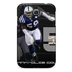 AngerolaWalmaka Snap On Hard Cases Covers Indianapolis Colts Protector For Galaxy S4