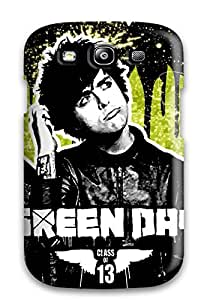 New Style ZippyDoritEduard Hard Case Cover For Galaxy S3- Green Day