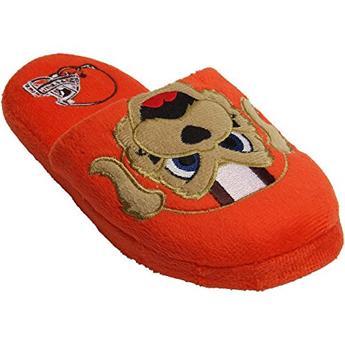 Cleveland Browns Official NFL Youth 8-16 Mascot Slide Slippers