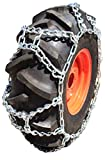 TireChain.com 15-19.5, 15 19.5 Duo Grip Tractor Duo Grip Tire Chains Set of 2