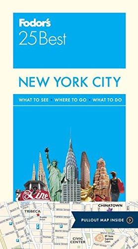 Fodor's New York City 25 Best (Full-color Travel Guide)