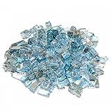 Cheap American Fyre 10 lbs. Caribbean Blue Reflective Fire Glass
