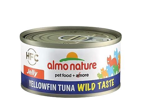 Almo nature HFC - Lote de 24 latas de Gato con Sabor a Gato Silvestre,