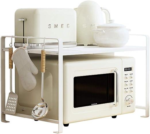 Estante de almacenamiento de microondas para encimera de cocina ...