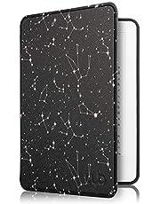 Capa Kindle Paperwhite à Prova D'água WB - Ultra Leve Auto Hibernação Sensor Magnético Silicone Flexível Constelação