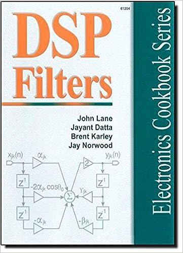 DSP Filter Cookbook (Electronics Cookbook Series) - Database Error