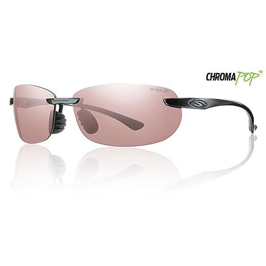 233414776caf8 Smith Optics Turnkey Premium Lifestyle Polarized Active Sunglasses - Black  Chromapop Polarchromic Ignitor Size
