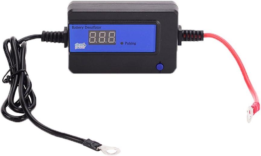 Cleanpower - Desulfador de batería de pulso automático (200 AH, para baterías de plomo ácido, 12/24/36/48 V, con anillo circular