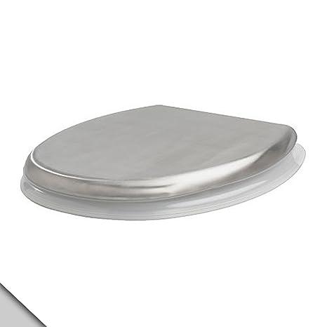 Amazon.com: IKEA GRUNDTAL – asiento para inodoro, acero ...
