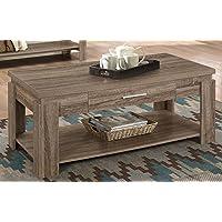 ACME Furniture 83285 Xanti Coffee Table, Dark Taupe